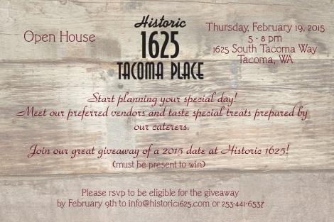 2015 Open House Invitation - card back