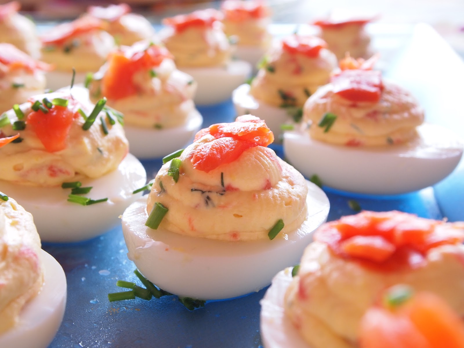Smoked Salmon Deviled Eggs | Occasions Catering
